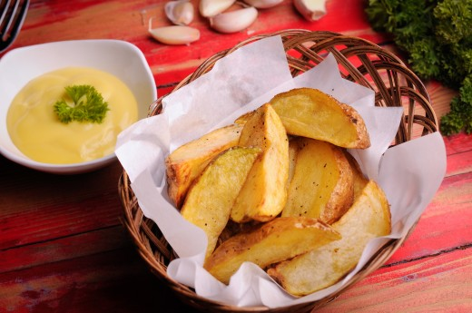 Potato Wedges/French Fries