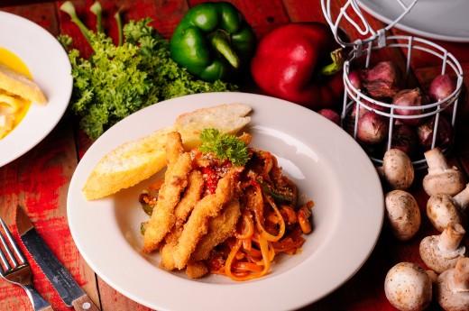 Tomato Chicken Pasta