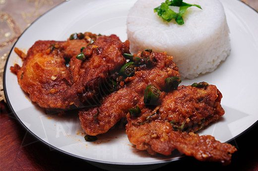 Chicken Wings Spicy Garlic