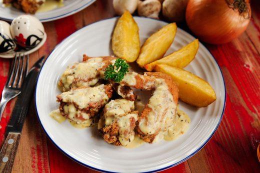 Chicken Wings Creamy Garlic