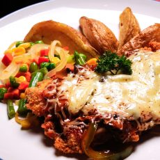 Chicken Mozzarella Steak